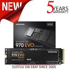 SAMSUNG 500GB 970 EVO nvme M.2 PCI Express Solid State Drive │ MZ-V7E500BW │ Nero