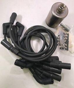 United Fuel Filter PCV Valve & Spark Plug Ignition Wire Set 4-7648 Fits 96 GM V6
