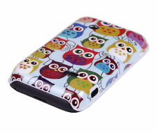 Schutzhülle f Sony Xperia tipo ST21i Tasche Case Cover Owl kleine Eule bunt