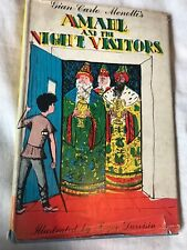 First Edition Amahl & The Night Visitors by Gian-Carlo Menotti (Hardback, 1953)