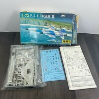Vintage Heller  F-5E Tiger II 2 1/72 scale model Kit 80253