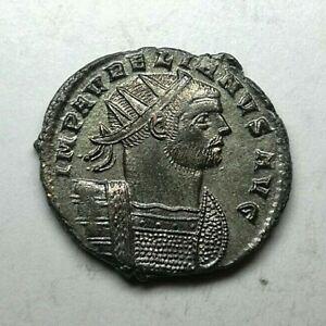 FULL SILVERED AURELIAN ANTONINIANUS AD 273 Ancient Authentic Roman coin