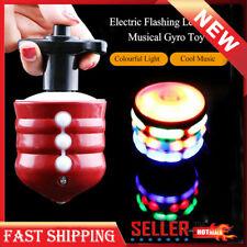 Toys for Kids Spinning Top Gyro Spinner Laser Led Music Lights Boys Xmas Gift