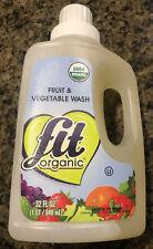 Fit Organic Fruit & Vegetable Produce Wash, 32oz refill