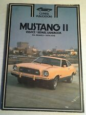 CLYMER SERVICE REPAIR HANDBOOK FOR FORD MUSTANG II 1974-76