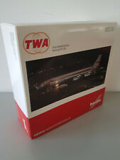 1:200 Herpa Wings 557740 TWA Trans World Airlines Boeing 707-320 N764TW Limited