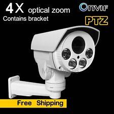 2MP Sony CMOS Mini PTZ 4x Optic Zoom IP Camera HD Outdoor IR SD CardSlot(NO PoE)