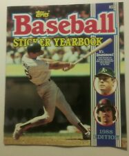 1988 Topps Baseball Yearbook Album    Save 20% off on 3+ purchase  Low Shipping