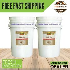 Augason Farms Emergency Survival Food QUICK ROLLED OATS TWO (6) SIX GALLON PAILS