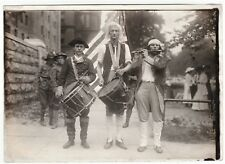 SUPER- Orig 5x7 Photo WWI era 1917 Actors Revolutionary War Drum Fife Buffalo NY