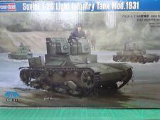 Hobbyboss 82494 1:35th scale Soviet T-26 Light Infantry Tank Mod 1931