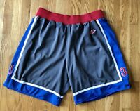 1995 Kansas Jayhawks PAUL PIERCE Sewn Gray Nike Shorts XL
