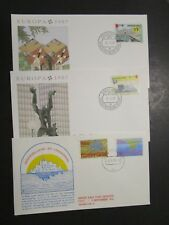 Netherlands 5 Mixed year First Day Covers (I) - M51