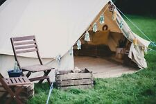 6m Superlite Polycotton Bell Tent With ZIG By Bell Tent Boutique