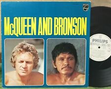 MICHEL CLEMENT - STEVE McQUEEN AND CHARLES BRONSON  JAPAN PROMO LP ost jazz funk