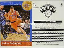 Panini NBA (Adrenalyn XL) 2013/2014 - #124 Andrea Bargnani - Golden Foil Signatu