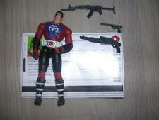 gi joe Cobra Zartan 2004 Complete + File Card!