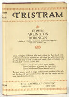 E.A. Robinson Tristram 1927 first edition signed by poet