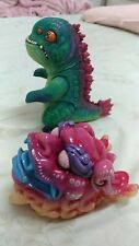 one off remjie Red Hot Style Fish dragon Sofubi Kaiju Monster