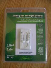 NEW Hunter 27182 3 Speed Ceiling Fan & Light Control Switch