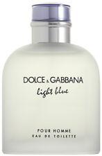 DOLCE & GABBANA LIGHT BLUE POUR HOMME EAU DE TOILETTE 200ML EDT NEU & OVP
