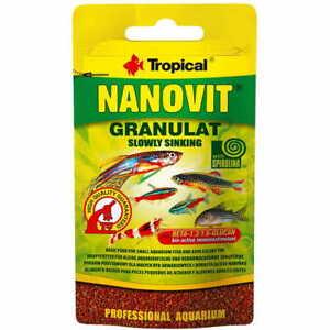 Tropical Fish Food NEON, TETRA, DANIO GUPPY FISH FOOD SHRIMP FOOD CORY FISH FOOD