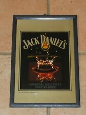 Joli miroir de bar Whisky JACK DANIEL'S enseigne / TBE / Envoi hyper sécurisé !