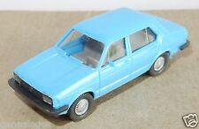 rare MICRO WIKING HO 1/87 VW VOLKSWAGEN JETTA BLEU CLAIR intérieur gris