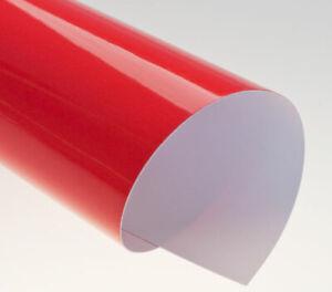100 x A4 Renz Chromo 250 GSM Red Binding Covers