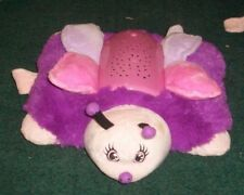 "BUTTERFLY PINK PURPLE PILLOW PETS 11"" DREAM LITES 2012"