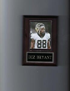 DEZ BRYANT PLAQUE NEW ORLEANS SAINTS FOOTBALL NFL