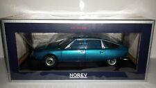 Norev 1:18 Citroen CX 2000 1974 Delta blauw metallic nieuw in doos