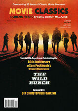 THE WILD BUNCH CINEMA RETRO 124 PAGE 50TH ANNIVERSARY ISSUE LIMITED EDITION