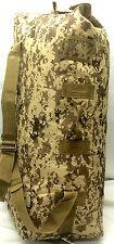 Army Duffelbag Tan Digital  Hunting Gear Duffle Bag 42