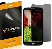 2X Supershieldz Privacy (Anti-Spy) LCD Screen Protector Shield Saver For LG G2