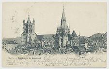 AK Cathedrale de Lausanne (e464)