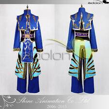EE0125AF Shin Sangokumusou 6/Dynasty Warriors 6 Si Ma Yi Cosplay Costume