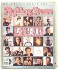 1988 YEARBOOK ROLLING STONE ISSUE 541/542 GUNS N ROSES JOHN LENNON U2 VAN HALEN!