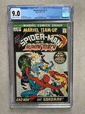 Marvel Team-Up #1 CGC 9.0 OW/W Pages, Spider-Man & Human Torch, Marvel 1972