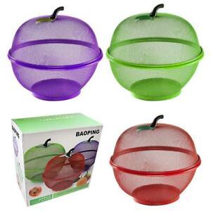 """Kitchen Storage Fruit Vegetable Basket Rack Stacking Stackable Tier Bowl 10"""""""