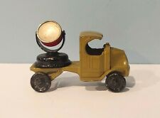 Vintage TOOTSIETOY Mack Military US Army Green Search Light Spot Light Truck