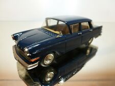 SWISS-MINI-43 OPEL KAPTAIN P1 1959 - BLUE 1:43 - EXCELLENT CONDITION - 9