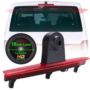 Car Rear view reverse parking CCD Camera for VW T6 VAN brake light waterproof