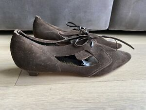 Vintage Clarks Mod Style Shoes