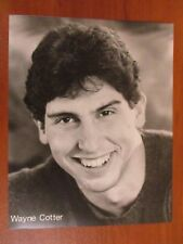 Vtg Glossy Press Photo Stand Up Comedian Wayne Cotter Late Night Portrait 3/88