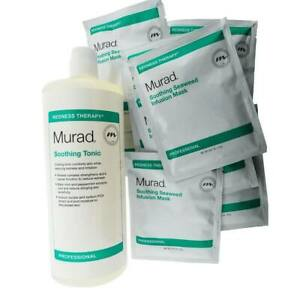 Murad Set Soothing Tonic & Seaweed Infusion Mask 15 Treatments - New in Box