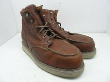 TIMBERLAND PRO Men's BARSTOW WEDGE Soft Toe WORK BOOTS 88559 Brown 15M