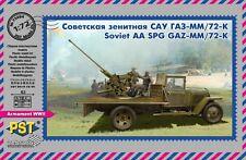 PST 1/72 SOVIETICI AA SPG 72-K/GAZ-MM (1943) # 72084