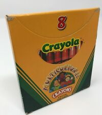 Crayons Crayola Multicultural 8 Count Large Assorted Colors Non Toxic