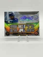 2019 Triple Threads Sammy Sosa 9 Hits In A Row Auto Relic #5/18 Cubs